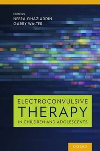 Libro in inglese Electroconvulsive Therapy in Children and Adolescents