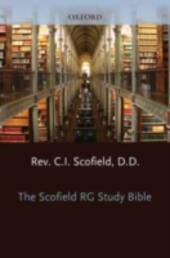 Old ScofieldRG Study Bible, KJV, Standard Edition