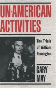 Ebook in inglese Un-American Activities May, Gary