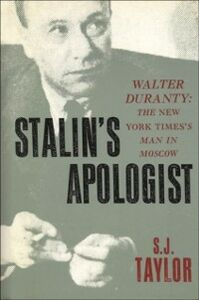 Ebook in inglese Stalin's Apologist Taylor, S.J.