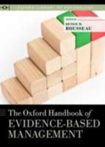 Ebook in inglese Oxford Handbook of Evidence-based Management -, -