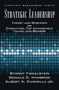 Foto Cover di Strategic Leadership: Theory and Research on Executives, Top Management Teams, and Boards, Ebook inglese di AA.VV edito da Oxford University Press