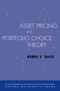 Ebook in inglese Asset Pricing and Portfolio Choice Theory Back, Kerry