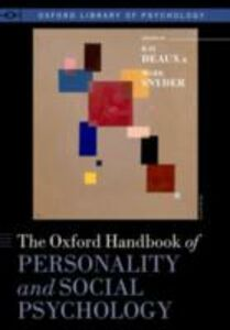 Ebook in inglese Oxford Handbook of Personality and Social Psychology
