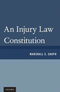Ebook in inglese Injury Law Constitution Shapo, Marshall S.