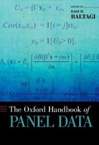 Foto Cover di Oxford Handbook of Panel Data, Ebook inglese di Badi H. Baltagi, edito da Oxford University Press