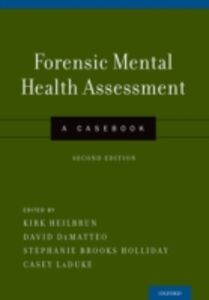 Ebook in inglese Forensic Mental Health Assessment: A Casebook