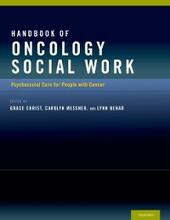 Handbook of Oncology Social Work: Psychosocial Care for People with Cancer
