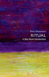 Ritual: A Very Short Introduction - Barry Stephenson - cover