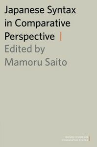 Ebook in inglese Japanese Syntax in Comparative Perspective