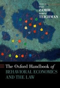 Ebook in inglese Oxford Handbook of Behavioral Economics and the Law -, -