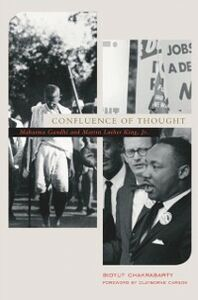Foto Cover di Confluence of Thought: Mahatma Gandhi and Martin Luther King, Jr., Ebook inglese di Bidyut Chakrabarty, edito da Oxford University Press
