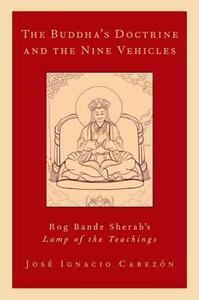 The Buddha's Doctrine and the Nine Vehicles: Rog Bande Sherab's Lamp of the Teachings - Jose Ignacio Cabezon - cover