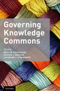 Ebook in inglese Governing Knowledge Commons -, -