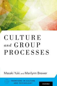 Culture and Group Processes - cover