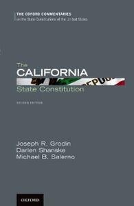 Foto Cover di California State Constitution, Ebook inglese di AA.VV edito da Oxford University Press