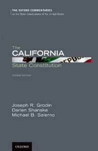 Ebook in inglese California State Constitution B. Salerno, Michael , R. Grodin, Joseph , Shanske, Darien