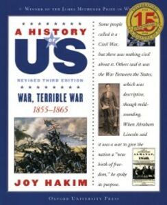 Foto Cover di History of US: War, Terrible War: 1855-1865 A History of US Book Six, Ebook inglese di Joy Hakim, edito da Oxford University Press