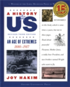 Ebook in inglese History of US: An Age of Extremes: 1880-1917 A History of US Book Eight Hakim, Joy