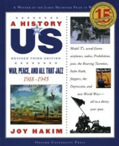Ebook in inglese History of US: War, Peace, and All That Jazz: 1918-1945 A History of US Book Nine Hakim, Joy