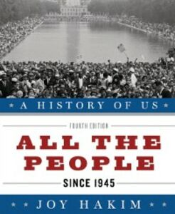 Ebook in inglese History of US: All the People: Since 1945 A History of US Book Ten Hakim, Joy
