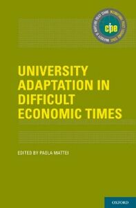 Ebook in inglese University Adaptation in Difficult Economic Times