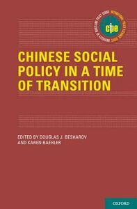 Libro in inglese Chinese Social Policy in a Time of Transition