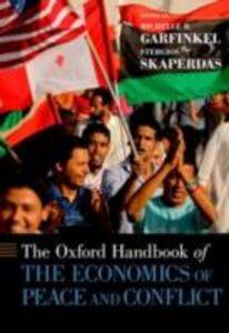 Foto Cover di Oxford Handbook of Economic Conflict Resolution, Ebook inglese di  edito da Oxford University Press