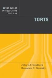 Oxford Introductions to U.S. Law: Torts