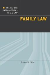 Oxford Introductions to U.S. Law: Family Law