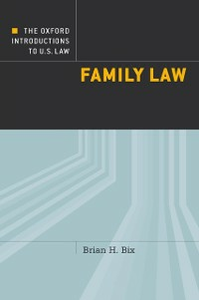 Ebook in inglese Oxford Introductions to U.S. Law: Family Law Bix, Brian