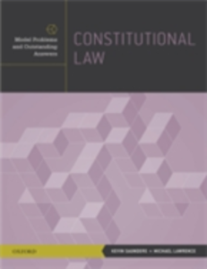 Ebook in inglese Constitutional Law: Model Problems and Outstanding Answers Lawrence, Michael , Saunders, Kevin
