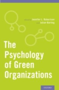 Foto Cover di Psychology of Green Organizations, Ebook inglese di  edito da Oxford University Press