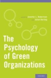 Psychology of Green Organizations