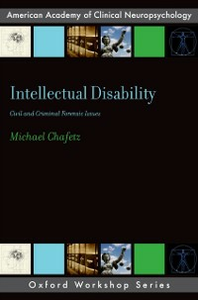 Ebook in inglese Intellectual Disability: Criminal and Civil Forensic Issues Chafetz, Michael