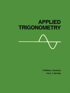 Applied Trigonometry - Thomas J. McHale - cover