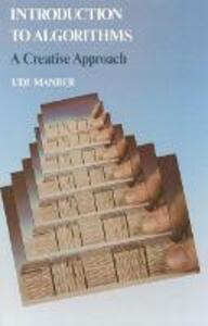 Algorithms: A Creative Approach - Udi Manber - cover