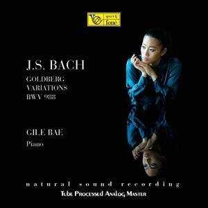 Vinile Goldberg Variations BWV988 Johann Sebastian Bach Gile Bae