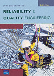 An Introduction to Reliability & Quality Engineering - John P. Bentley - cover
