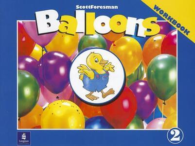Balloons: Kindergarten, Level 2 Workbook - Mario Herrera,Barbara Hojel - cover