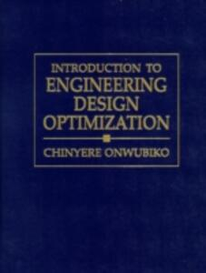 Introduction to Engineering Design Optimization - Chinyere Onwubiko - cover