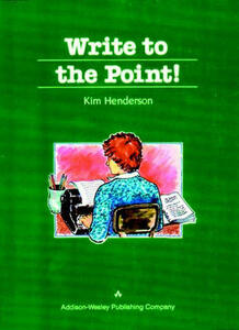 Write to the Point - Kim Henderson - cover