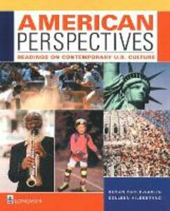 American Perspectives: Readings on Contemporary U.S. Culture - Susan Earle-Carlin,Colleen Hildebrand - cover