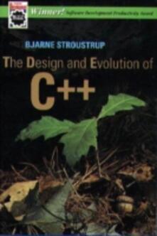 The Design and Evolution of C++ - Bjarne Stroustrup - cover