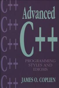Advanced C++ Programming Styles and Idioms - James O. Coplien - cover