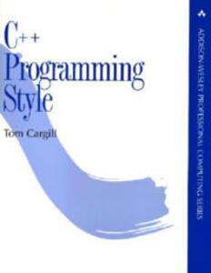 C++ Programming Style - Tom Cargill - cover