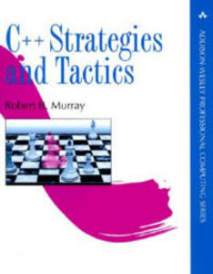 C++ Strategies and Tactics - Robert B. Murray - cover