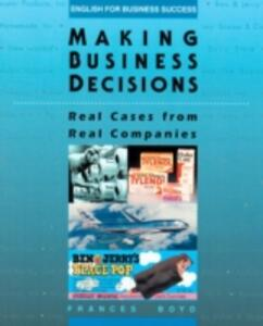 Making Business Decisions - Frances Boyd - cover