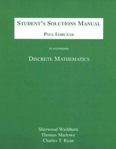 Student Solutions Manual for Discrete Mathematics - Sherwood L. Washburn - cover
