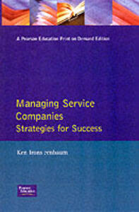 Managing Service Companies - Ken Irons - cover